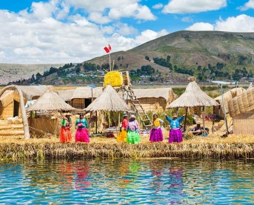 Drijvende DIY Eilanden @ Titicaca