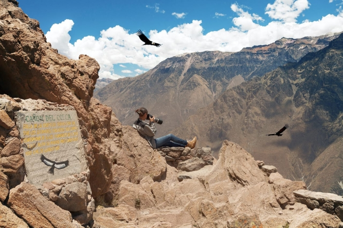 El Condor Pasa @ Colca Canyon