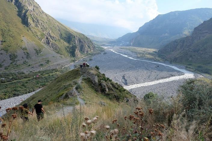 Chillen in de Kaukasus