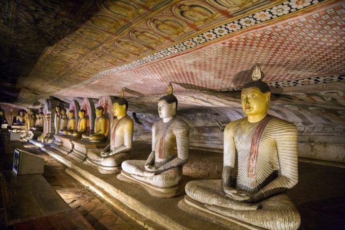 Lustrumreis Sri Lanka! - Deep down: Dambulla