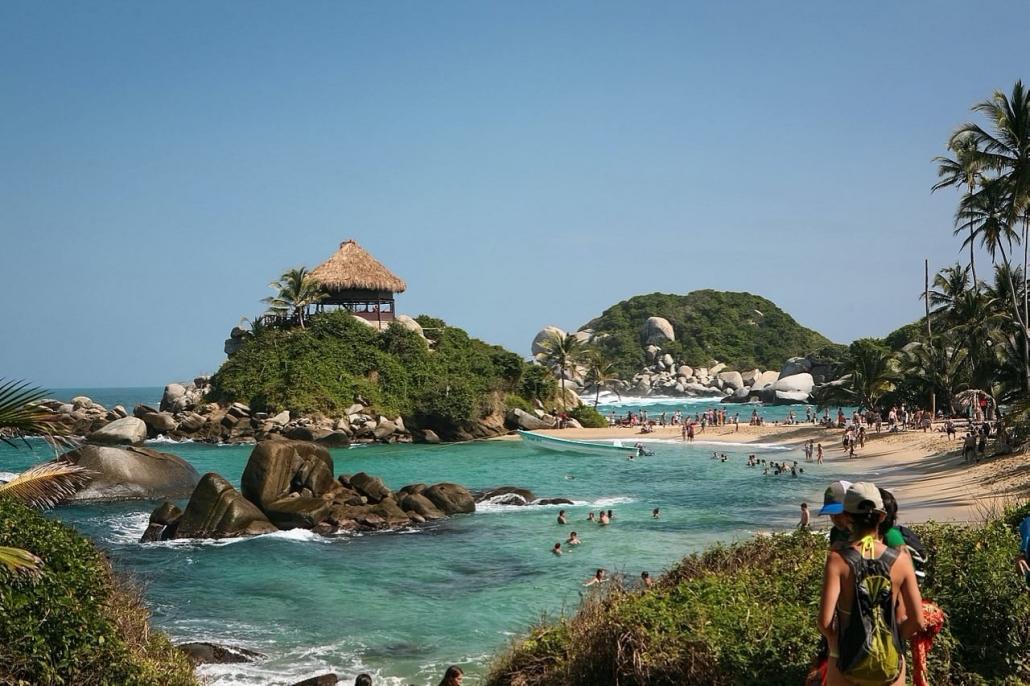 Lustrumreis Colombia! - Eco topper: Tayrona Park