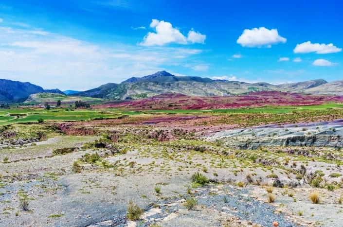 Kleurrijke kraters