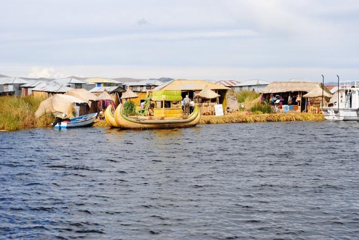 Lekker floaten @ Titicaca