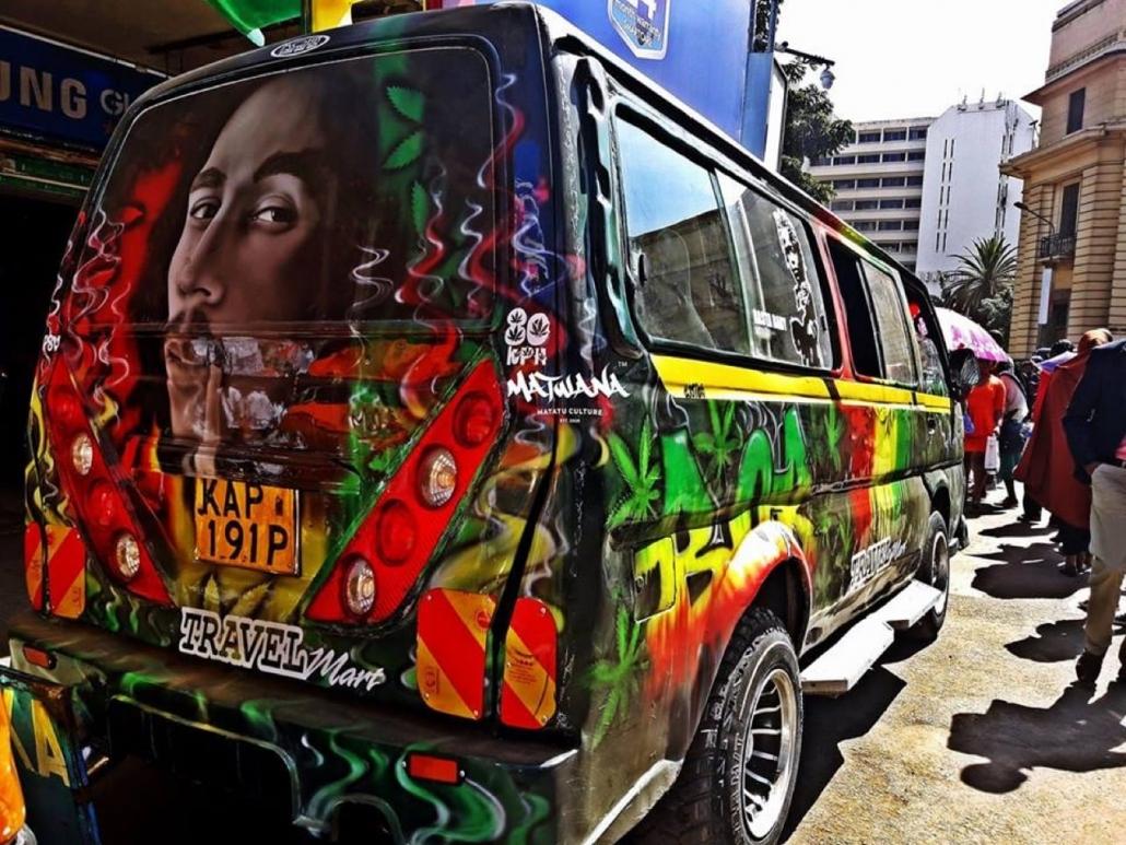 Lustrumreis naar Kenia! - Nice ride @ Nairobi