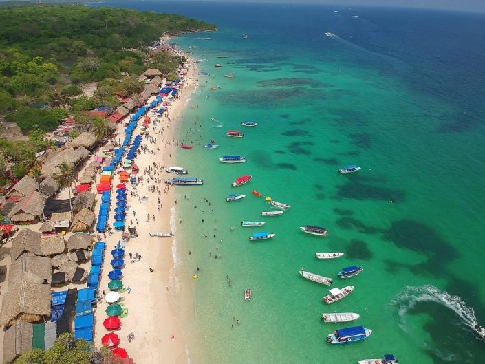 Lustrumreis Colombia! - Playa Blanca. Witte stranden – maar dan letterlijk