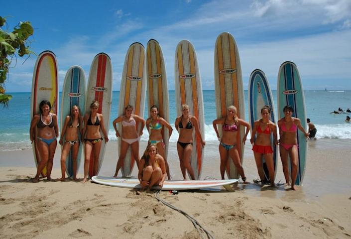 Playa El Tunco: muy chill o