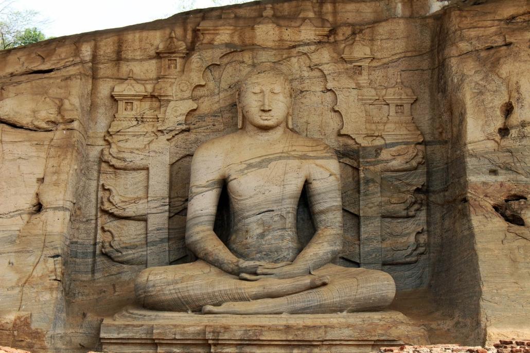 Lustrumreis Sri Lanka! - Polonnaruwa: Ruin Time