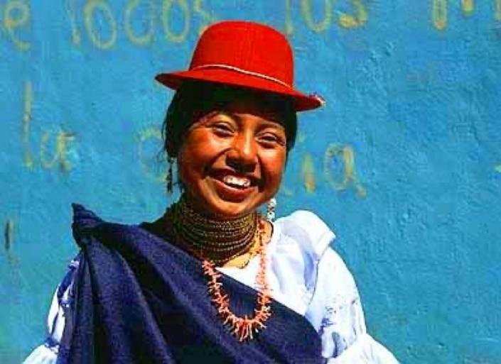 Lustrumreis Ecuador! - Poncho time @ Otavalo
