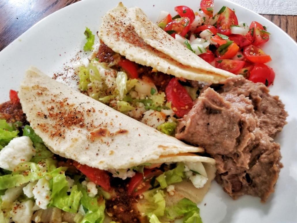 Tortilla-to-go Honduran style