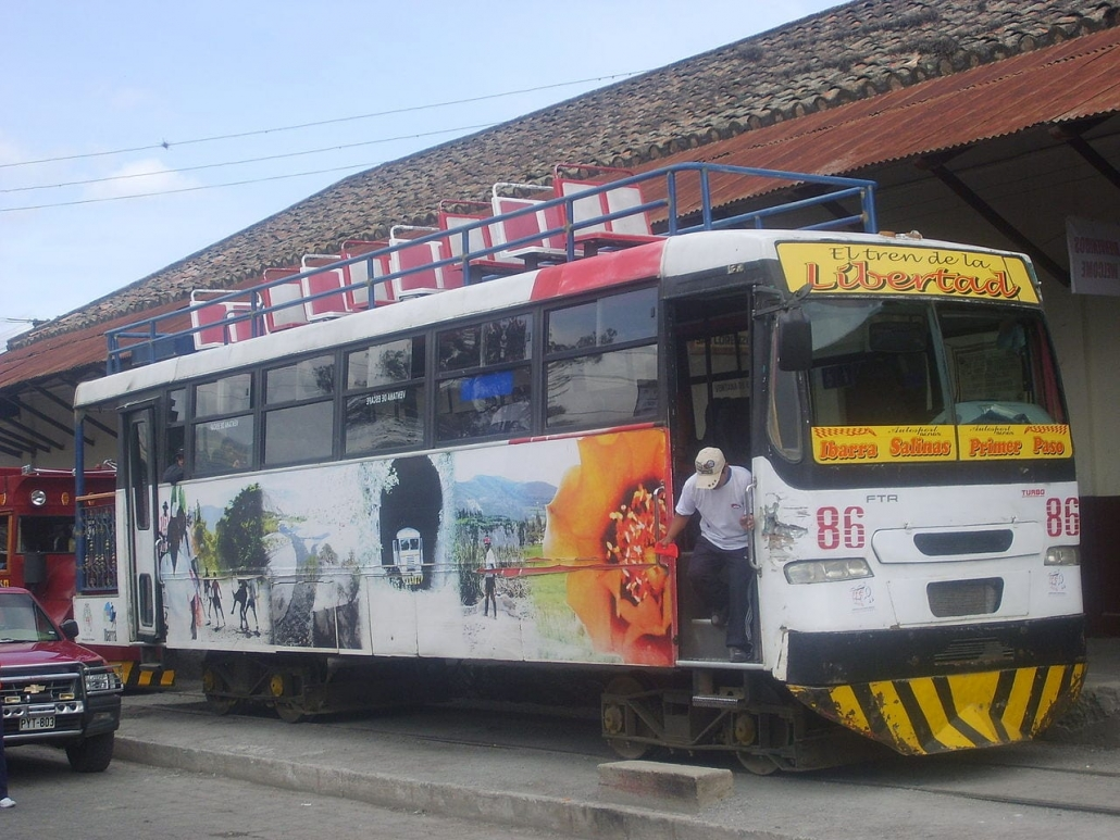 Lustrumreis Ecuador! - Tren de la libertad
