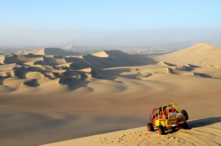 Woeste woestijnraces