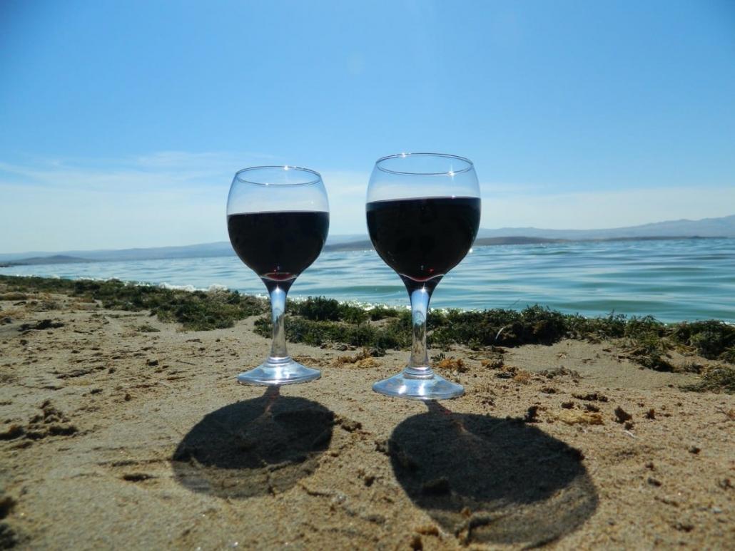 Lustrumreis Albanië! - Dhërmi seafood soepele wijn scuba