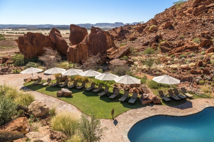 Lustrumreis Namibië - Chillen @ Twyfelfontyn Lodge
