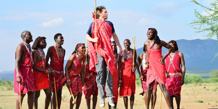 Culture immersion part 1 Masaai - Lustrumreis Tanzania & Zanzibar!
