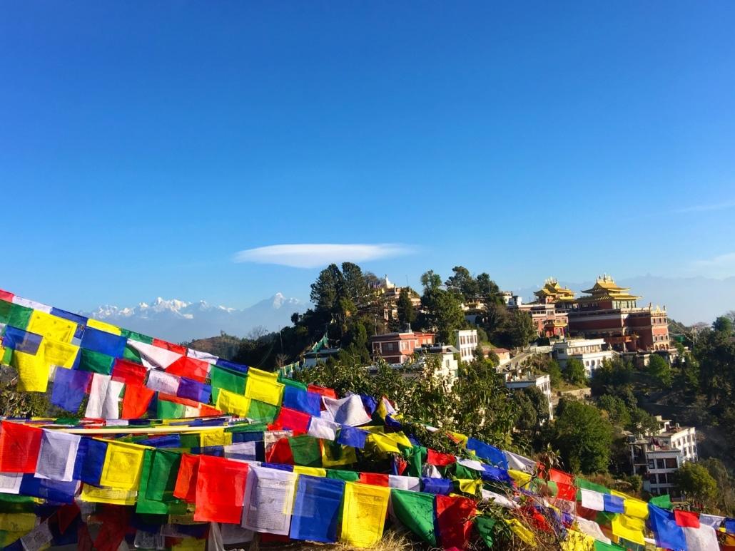 Feeling high in Nagarkot - Lustrumreis Nepal!