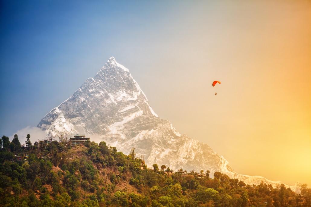 I believe I can fly - Lustrumreis Nepal!