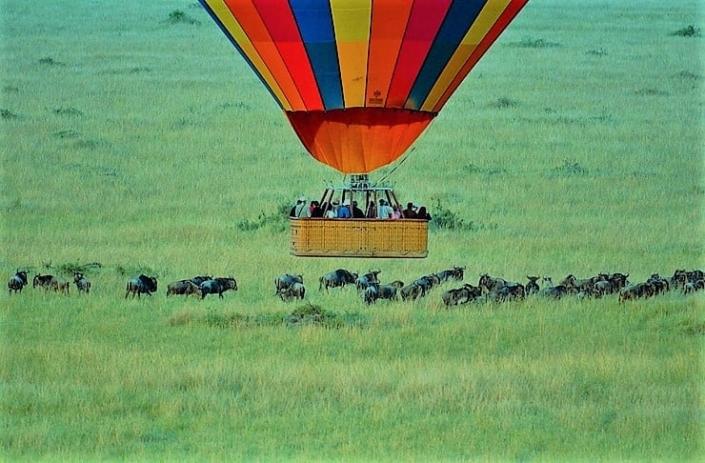 Lustrumreis Namibië - Luchtballon @ Vlei