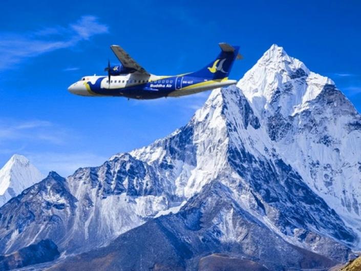 Mountain flight - Lustrumreis Nepal!