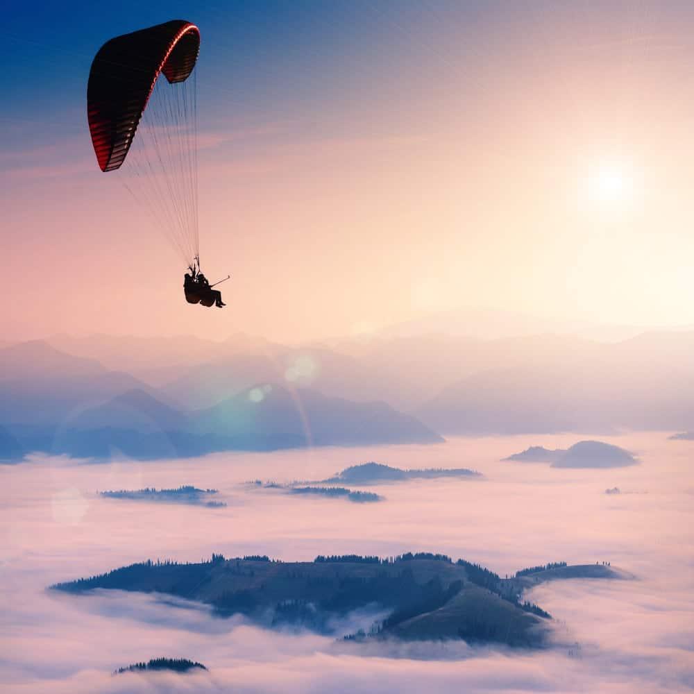 Lustrumreis Namibië - Paragliden