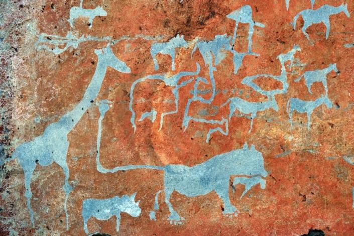 Lustrumreis Namibië - Rock Art