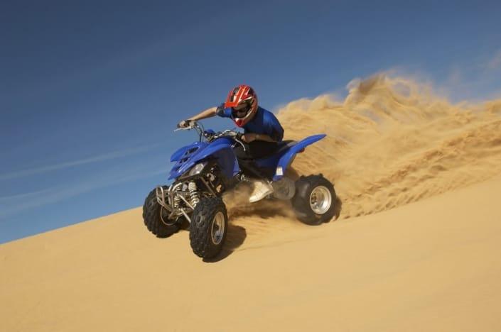 Lustrumreis Namibië - Sandboarding Quad biking