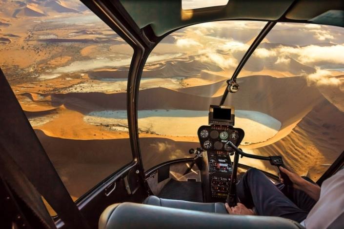 Lustrumreis Namibië - Scenic Flight @ Brandberg