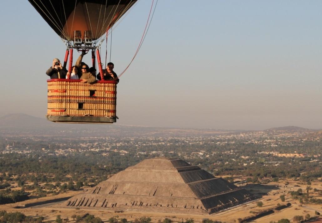 Lustrumreis Mexico - Archeologische hoogtepunten vanuit je luchtballon