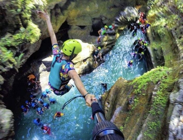 Lustrumreis Filipijnen! - Canyoning @ Kawasan Cebu