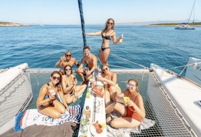 Lustrumreis Mexico - Catamaran cruise