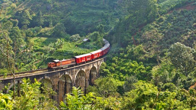 Lustrumreis Sri Lanka! - Met de trein door de thee