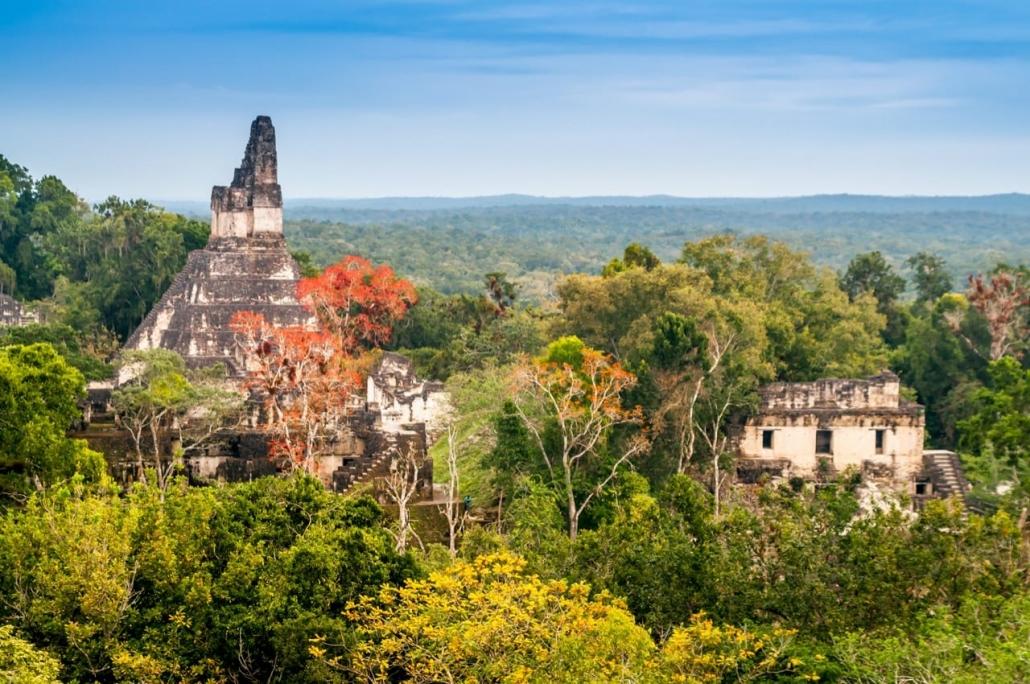 Lustrumreis Guatemala & Belize! - Temple time in Tikal