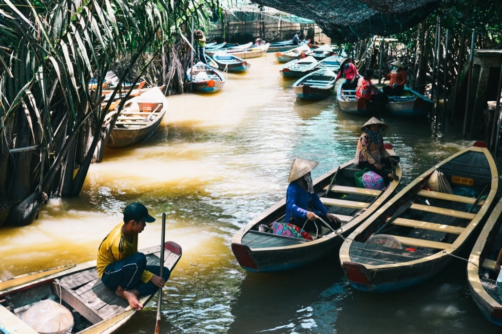 Lustrumreis Vietnam! - Ontdekking geheimen van de Mekong Drijvende markten