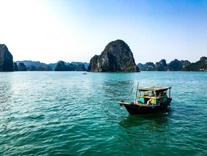 Lustrumreis Vietnam! - Traditioneel Vietnamese schoener door Drakensbergen 2
