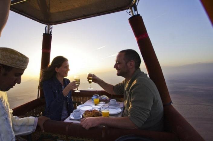 Lustrumreis naar Marokko! - Ballonvaart