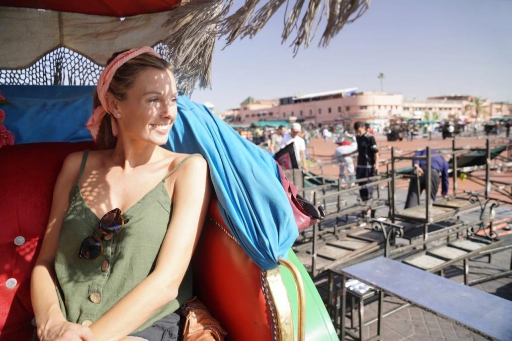 Lustrumreis naar Marrakech! - Marrakech per koets