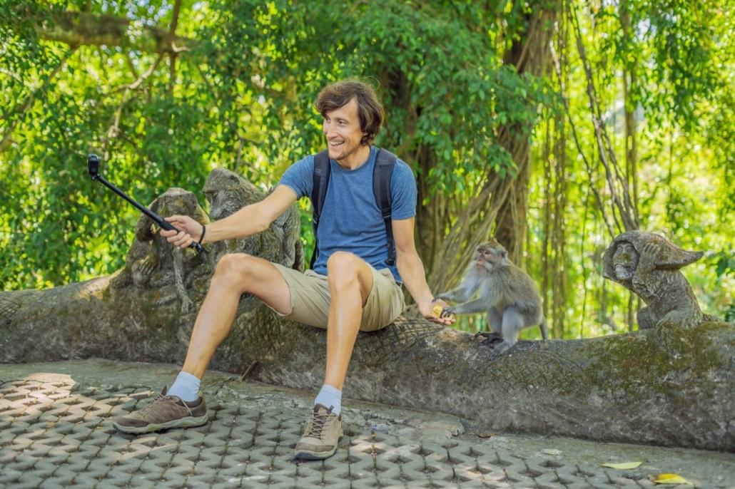 Lustrumreis naar Bali en Lombok (Indonesië) - Nieuwsgierige aapjes
