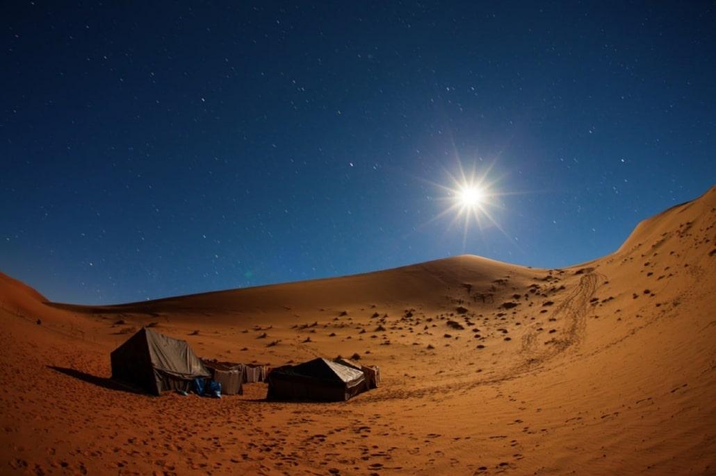 Lustrumreis naar Marokko! - Overnachten onder sterren