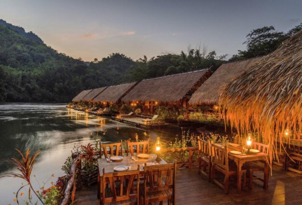 Lustrumreis naar Thailand - Sleeping on the River Kwai