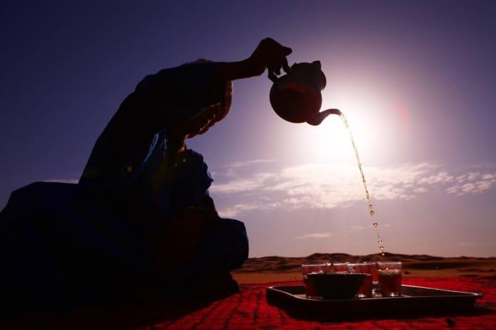 Lustrumreis naar Marrakech! - Thee ceremonie