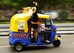 Lustrumreis naar Thailand - Lustrumreis naar Thailand - Tuk tuk self drive race