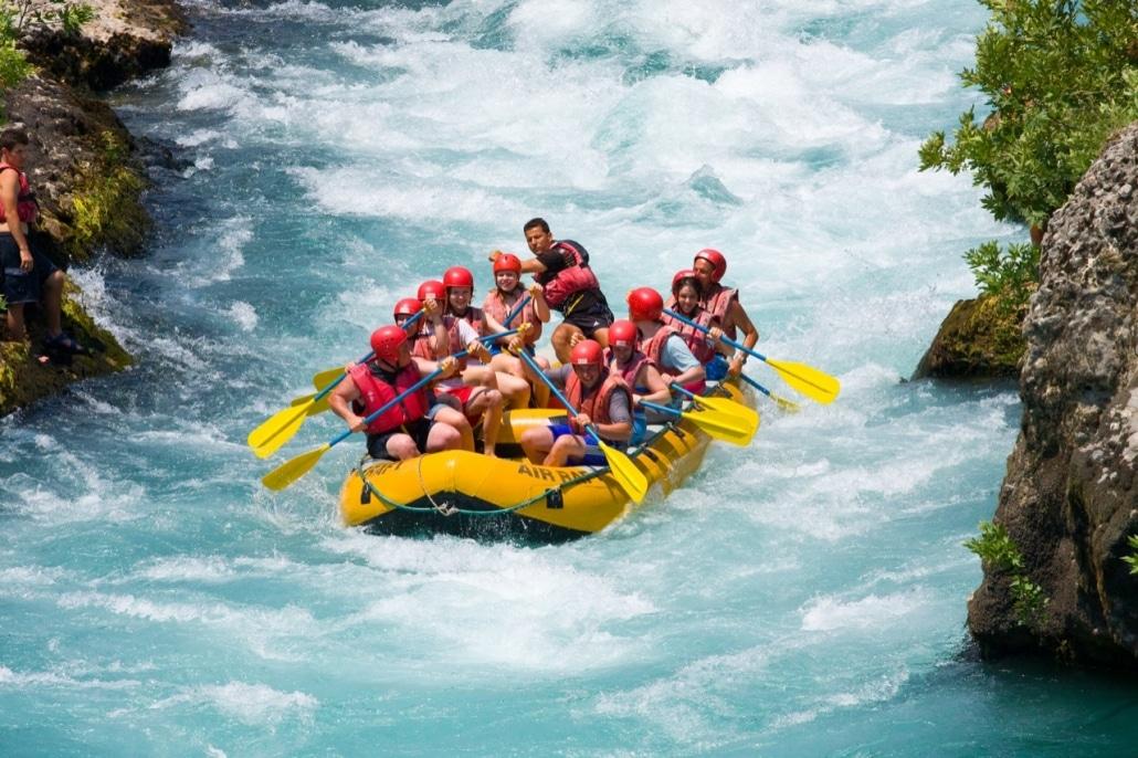 Lustrumreis Georgië! - Aragvi River Rafting