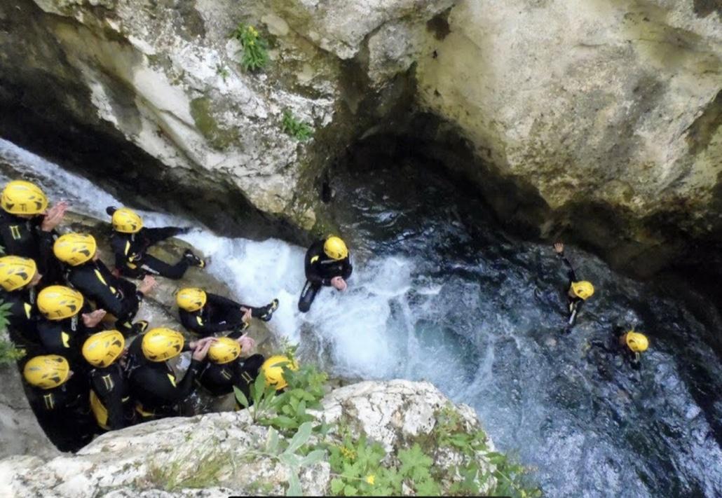 Lustrumreis Monenegro & Dubrovnik! - Canyoning @ Nevidio