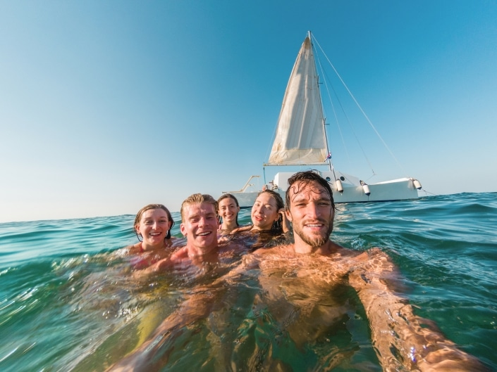 Lustrumreis naar Cuba! - Catamaran @ Cayo Blanco