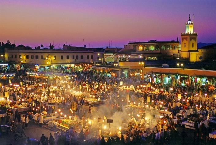 Lustrumreis naar Marrakech! - Djeema El Fna