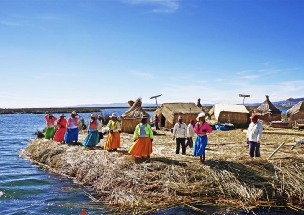 Lustrumreis Bolivia! - Lekker floaten @ Titicaca