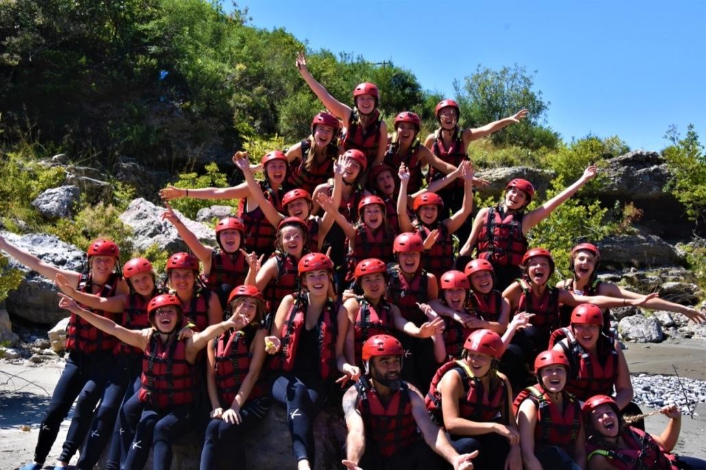 Lustrumreis Albanië! - Raft de Vjosa rivier af