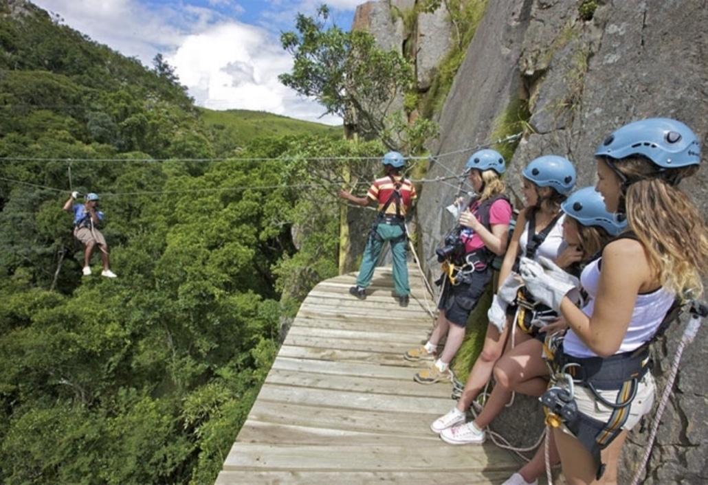 Lustrumreis naar Swaziland (Eswatini)! - Treetop Tour (SWA)