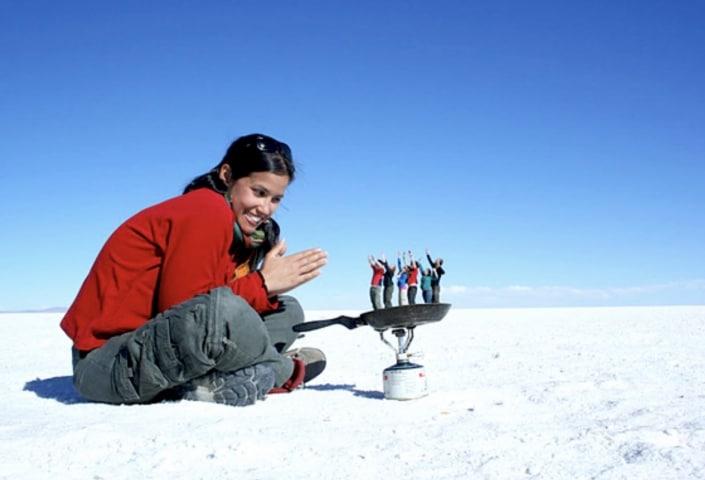 Lustrumreis naar Argentinië! - Zanderige zoutvlaktes