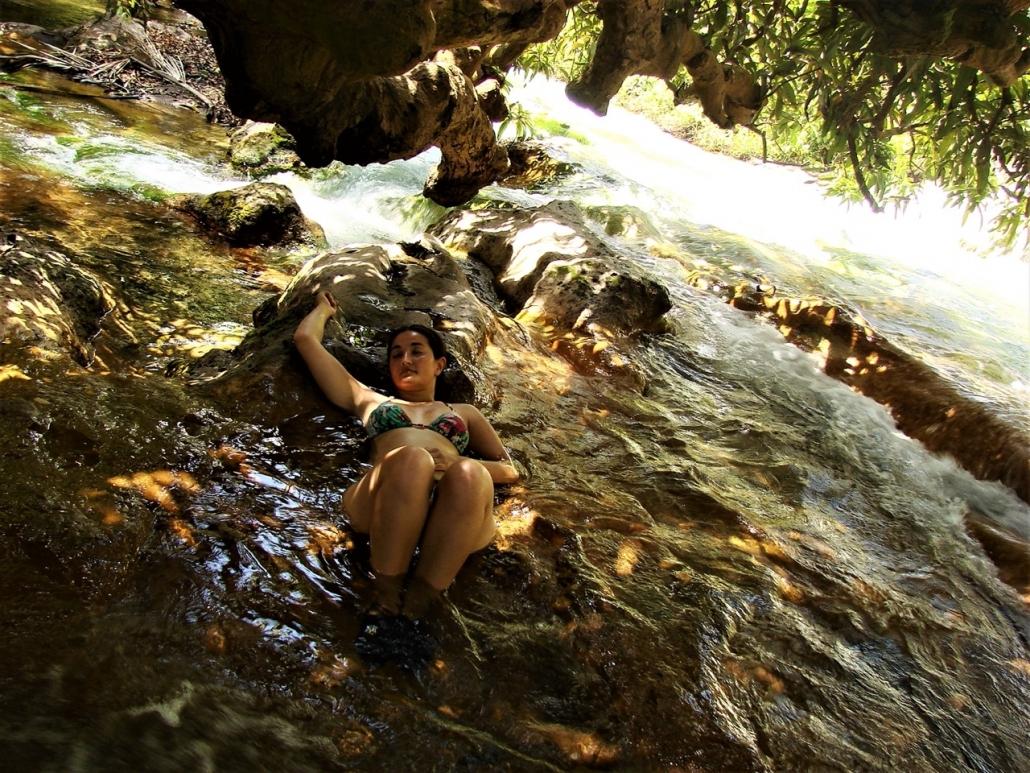 Lustrumreis Komodo & Flores in Indonesie! - Chillen in de hot springs (Flores)