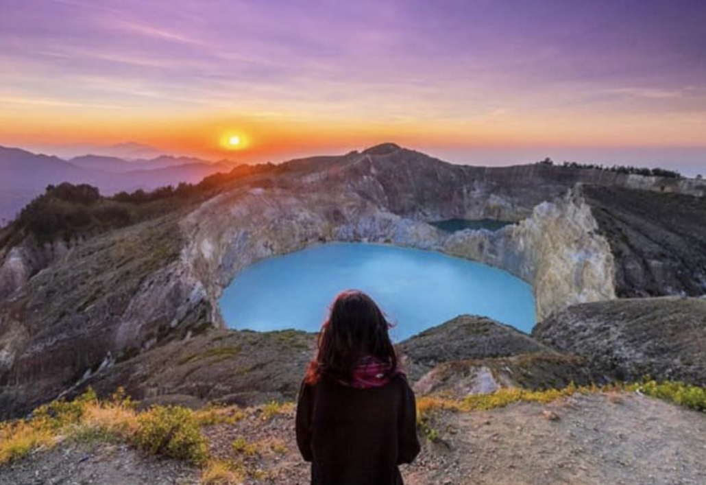 Lustrumreis Komodo & Flores in Indonesie! - Kleurige kratermeren (Flores)